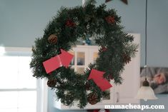 Looking for new ideas for your elf on the shelf? Check out the best list of easy Elf on the Shelf ideas. There are hundreds of ideas with pictures! Christmas Wreaths, Christmas Decorations, Christmas Tree, Holiday Decor, Christmas Ideas, The Elf, Elf On The Shelf, Elf Ideas Easy, Modern House Design