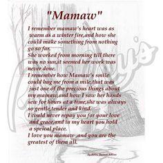 12 Best Mamaw quotes images   Quotes, Nana quotes, Grandma ...