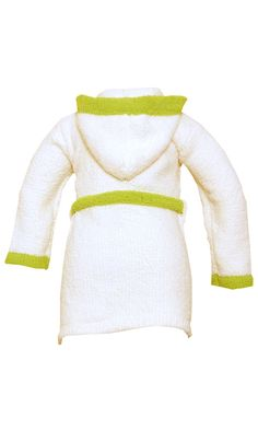 Kashwere Komfy Kids Cream and Green Cover-ups