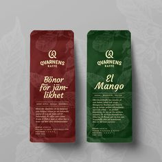 Packaging design concept for a local coffee brand Made by Viktor Forsman Design Coffee Branding, Bourbon, Packaging Design, Mango, Concept, Food, Caramel, Bourbon Whiskey, Manga