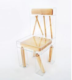 """As both an artwork and conceptual design piece, Exploded Chair by Joyce Lin straddles the line between art and function. The artist and designer is influenced by """"ideas on inter-connectivity, isolation, and the ever-shifting relationship between humans and the natural world,"""" but also interested in creating functional, interactive and playful objects and sculptures. Like all …"""