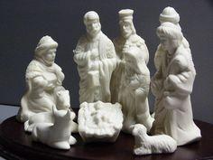 Please visit my shop on Etsy.  Vintage nativity scene / porcelain nativity by cgraceandcompany