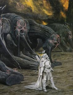 In some of the most ancient myths, there is tale of the White King, the personification for the original God of Light as he traversed the madness that was the Material Plane before the great Unification