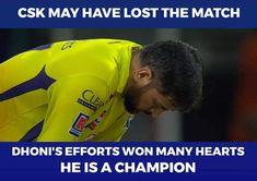 Chennai Super Kings, Effort, Champion