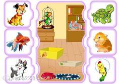 Zvířátka - dům