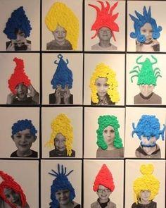 Municipal Academy of Fine Arts Art For Kids, Crafts For Kids, Arts And Crafts, Atelier Photo, Fantasy Kunst, Collaborative Art, Arts Ed, Preschool Art, Art Classroom