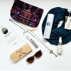 I love that @ninagarcia's @quarterly box was all about #ecofriendly #greenbeauty & #sustainable products! #NGQ08 @w3llpeople @arianaostny @synergyclothing @frenchgirlorganics @johnnyflyco @shopgoodcloth @mayawater #cleanliving