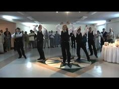 My friend wants to do the Thriller dance for his wedding, found this perfect video for him!