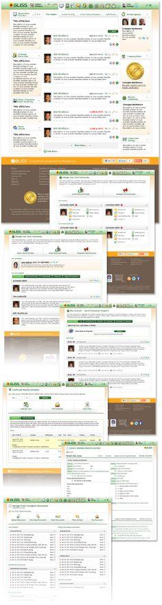 medical healthcare interface design