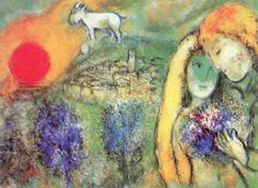 I and the Village by Marc Chagall – Facts & History of the ...