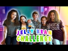 The Jelly Bean Challenge! (MattyB vs Haschak Sisters) - YouTube  What is up with Matt and Jellybeans
