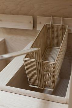 Roxy Paine : Apparatus; wooden mcDonalds