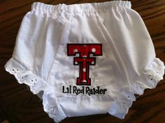 Silly Lilly Kids  Texas Tech Red Raiders