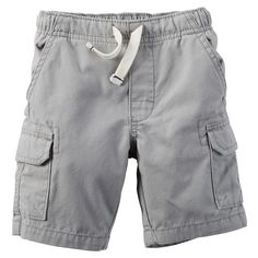 Baby Boy Carter's Pull-On Cargo Shorts, Size: 3 Months,