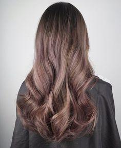 Ash brown with hint of lavender #melbournecolorist #melbournehair #melbournehairsalon #melbournehairdresser #hair #hairstyle #pinkhair #lavenderhair #balayage #ombre #australia #aussie #america #usa #fashion #photo #instagram #follow #like #hairporn #hairgoal @olaplex @olaplexau