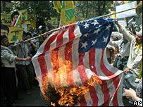 Anti-American protest in Tehran