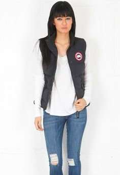 Canada Goose jackets sale official - Freestyle Vest in Silverbirch - designed by Canada Goose | Women's ...