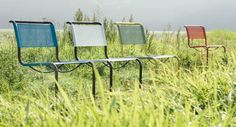 Thonet All Seasons. Sillas de exterior de inspiración Bauhaus