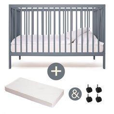 Babybett-kinderbett- Kombi-Kinderbett -moKee- 129EUR