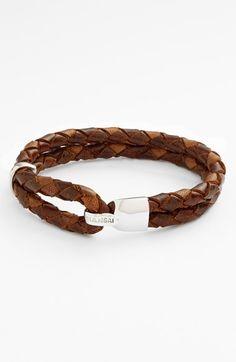 Miansai 'Beacon' Braided Leather Bracelet available at #Nordstrom @Ramon Richardson Huinil