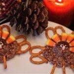 Chocolate Rice Krispies Turkeys