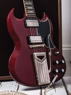 In our feature documenting the oral history of the SG, the people who were there tell the story of the slimline reimagining of the Les Paul that became Gibson's best-selling guitar Guitar Fender, Sg Guitar, Gibson Guitars, Guitar Chords, Cool Guitar, Acoustic Guitar, Guitar Case, Music Guitar, Music Music