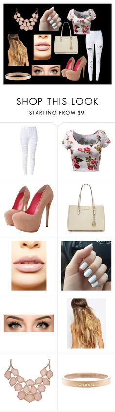 """8"" by madison-janetx on Polyvore featuring MICHAEL Michael Kors, LASplash, Johnny Loves Rosie, Chanel, women's clothing, women, female, woman, misses and juniors"