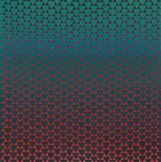 "Annell Livingston - Fragment Series #186 - 30x30"" gouache on paper."