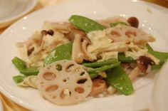 Chinese Stir-Fried Lotus Root With Pork Recipe