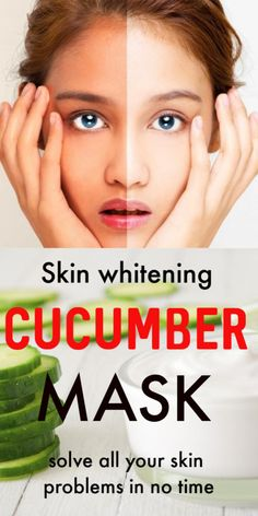 Cucumber For Skin – Amazing Ways To Use Cucumber For All Skin Problems Cucumber For Skin, Cucumber Mask, Face Treatment, Skin Care Treatments, Diy Skin Care, Skin Care Tips, Face Mask Ingredients, Best Diy Face Mask, Acne And Pimples