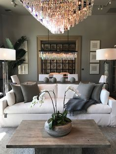 CocosCollections: My Sweet Savannah: ~Restoration Hardware~{RH Seattle} Modern House Design, Family Room Design, Restoration Hardware Bedroom, Living Room Designs, Living Decor, Living Room Grey, Restoration Hardware Living Room, Home Decor, House Interior