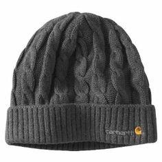 Carhartt Women's  Cable Knit Hat http://www.branddot.com/13/Carhartt-WA061-Womens-Cable-Heather/dp/B008G7HSXQ/ref=sr_1_11/179-5883272-6518942?s=apparel