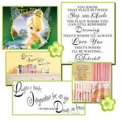Tinkerbell quotes. I want the long one for her room