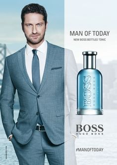 4c5f503a Hugo Boss Boss Bottled Tonic Fronted by Gerard Butler {New Fragrance}  {Men's Cologne} {Celebrity-Endorsed Scent}