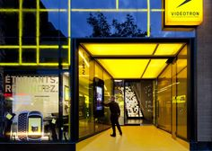 Videotron flagship store by Sid Lee Architecture & RCAA, Montreal store design
