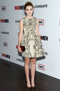 Kiernan Shipka at Mad Men Season Premiere