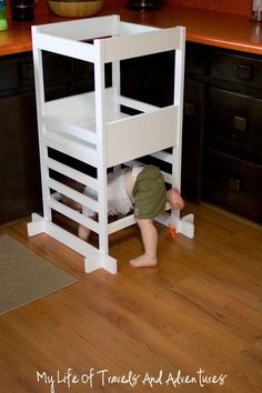 Kitchen Helper Toddler Step Stool Pinterest October