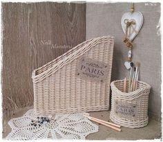 Купить или заказать Плетеный набор 'Paris' в интернет-магазине на Ярмарке…