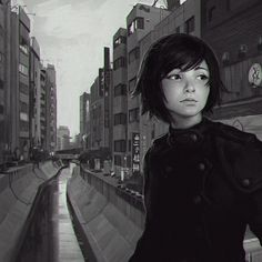 Shibuya River by KR0NPR1NZ on deviantART