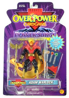 Adam Warlock  Miscellaneous Series Overpower - 1999  /// Pinned by: Marvelicious Toys - The Marvel Universe Toy & Collectibles Podcast [ www.MarveliciousToys.com ]