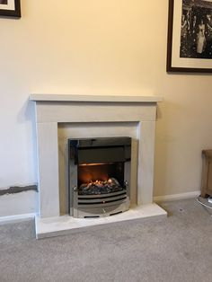Updating the old fireplace with Brayford Optiflame Stove ...