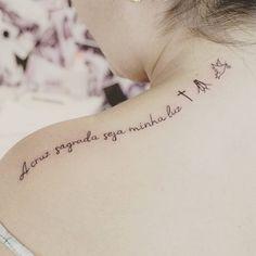 A cruz sagrada seja minha luz .. #tatuagensfemininas #inspirationtatto #brunomazambanetattoo #tattoos #tatuagemfeminina #tatuagem