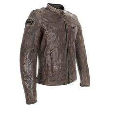 Richa Austin Leather Jacket - Brown - FREE UK DELIVERY