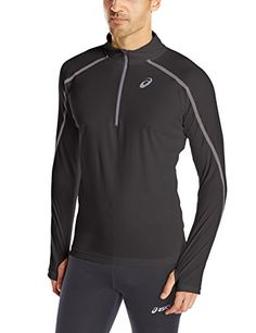 ASICS Asics Men'S Lite-Show Long-Sleeve Half-Zip Top. #asics #cloth #