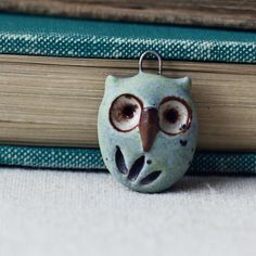 Hoot owl charm pastel by kylieparry on Etsy
