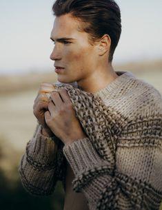 Chunky Knitwear, Men Sweater, Turtle Neck, Wool, Guys, Knitting, Stylish, Sweaters, Fashion