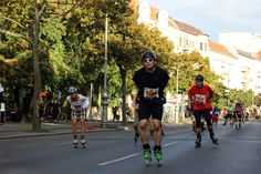 Samstag, 26.09., 17.12 Uhr – Neukölln, Hasenheide: Inline-Skating-Marathon an der Hasenheide. © Benjamin Pfau
