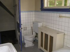Kelly's Bathroom Before (Notice Radiator)