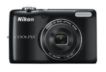 Nikon COOLPIX L26 Compact Digital Camera - Black (16.1MP, 5x Optical Zoom) 3 inch LCD