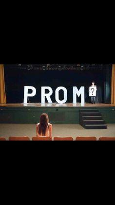 Cory, prom?